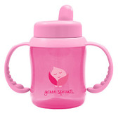 Green Sprouts Flip-Top Sippy Pink 6 oz (180 ml), iPlay