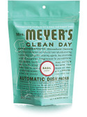 Automatic Dish Packs Basil Scent 12.7 oz (360 g), Mrs. Meyers Clean Day
