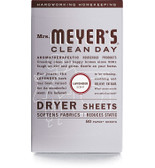 Dryer Sheets Lavender Scent 80 Sheets, Mrs. Meyers Clean Day