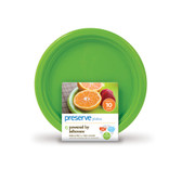 Plates Reusable Apple Green Small 10 Pack 7 in, Preserve