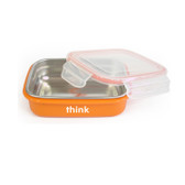 Thinkbaby The Bento Box Orange 9 oz (250 ml), Think