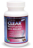Clear Restless Leg Relief 60 Caps Clear Products