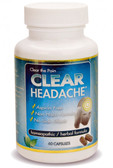 Clear Headache 60 Caps Clear Products