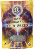 Raw Organic Chia Seeds 12 oz (340 g), Earth Circle Organics