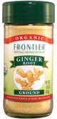 Organic Ginger Root Ground 1.50 oz (42 g), Frontier Natural Products