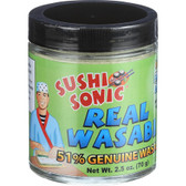 Sushi Sonic Real 51% Wasabi 2.5 oz (70 g), Great Eastern Sun