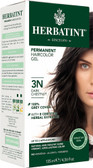 Herbatint Permanent Dark Chestnut 3N Natural Hair Color