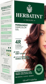 Herbatint Permanent Copper Chestnut 4R, Natural Hair Color Gel