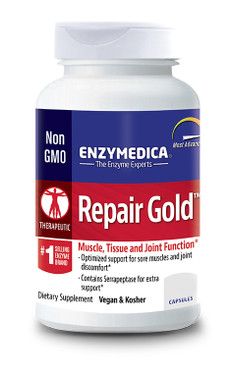 Enzymedica Repair Gold 60 Caps, Tissue & Joint Recovery