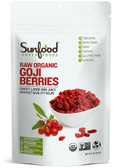 Organic Sun-Dried Goji Berries 1 lb Sunfood