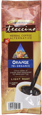 Herbal Coffee Alternative Orange Light Roast Caffeine Free 11 oz (312 g), Teeccino