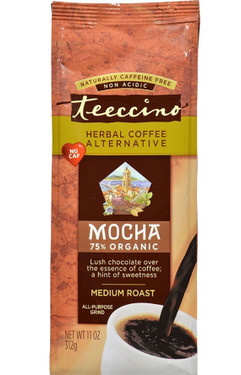 Mocha Medium Roast Coffee No Caffeine 11 oz (312 g) Teeccino