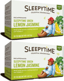 2 x Sleepytime Green Lemon Jasmine Decaf 20 Tea Bags, Celestial, 2-Pack