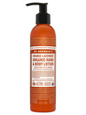 Sun Dog's Organic Lotion Orange Lavender 8 oz, Dr. Bronner's