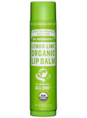 Organic Lip Balm Lemon Lime 0.15 oz, Dr. Bronner's
