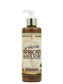 Authentic African Black Soap Savanna Spice 8 oz (235 ml), Alaffia