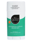 All Good Deodorant Cedarwood & Spruce 2.5 oz (72 g), Elemental Herbs