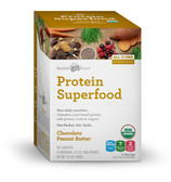 Protein Superfood Nutrition Shake Chocolate Peanut Butter 10 Pkts, Amazing Grass