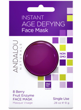 Instant Age Defying 8 Berry Fruit Enzyme Face Mask Andalou