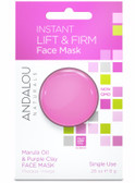 Instant Lift & Firm Marula Oil & Purple Clay Face Mask .28 oz, Andalou