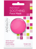 Instant Soothing 1000 Roses Rosewater Face Mask .28 oz Andalou
