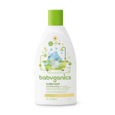 Bubble Bath Chamomile Verbena 9 oz (266 ml), BabyGanics