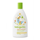 Night Time Bubble Bath Orange Blossom 12 oz (354 ml), BabyGanics