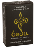 Triple Milled Face & Body Bar Camel Milk Lemongrass & Aloe 4 oz (113 g), Bedu