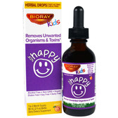 NDF Happy Removes Unwanted Organisms & Toxins Kids Peach 2 oz., BioRay