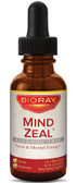 Mind Zeal Focus & Mental Energy Alcohol Free 2 oz (60 ml), BioRay