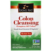 Colon Cleansing Herbal Tea 20 Tea Bags 1.06 oz (30 g), Bravo Teas & Herbs