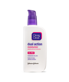 Dual Action Moisturizer Salicylic Acid Acne Medication 4 oz, Clean & Clear