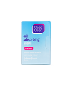 Oil Absorbing Sheets Portable 50 Sheets, Clean & Clear
