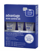 Advantage Acne Control Kit 3 Piece Kit, Clean & Clear