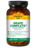 Grape Complete Includes Pine Bark 90 VCaps, Country Life