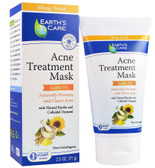 Acne Treatment Mask Sulfur 5% 2.5 oz (71 g), Earth's Care