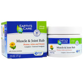 Muscle & Joint Rub 2.5 oz (71 g), Earth's Care
