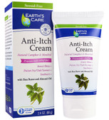 Anti-Itch Cream with Shea Butter and Almond Oil 2.4 oz (68 g), Earth's Care