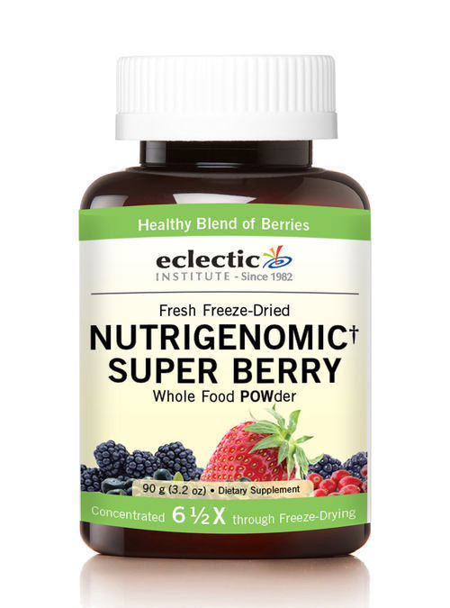 Nutrigenomic Super Berry Whole Food Powder 3 2 Oz 90 G Eclectic Institute