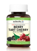 Berry Tart Cherry Whole Food Powder 5.1 oz (144 g), Eclectic Institute