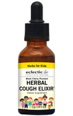 Herbs For Kids Herbal Cough Elixir Black Cherry 1 oz, Eclectic Institute
