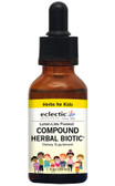 Herbs For Kids Compound Herbal Biotic Lemon-Lime 1 oz, Eclectic Institute