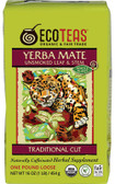 Yerba Mate Unsmoked Leaf & Stem 16 oz (445 g), Eco Teas