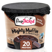 Mighty Muffin with Probiotics Double Chocolate 1.94 oz (55 g), FlapJacked
