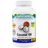 Coconut Oil 100% Pure Extra Virgin 120 sGels, Fruitrients