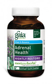 Adrenal Health Nightly Restore 120 Vegan Liquid Phyto-Caps, Gaia Herbs