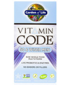 Vitamin Code 50 & Wiser Men 120 UltraZorbe VCaps, Garden of Life