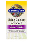 Living Calcium Advanced 120 Caplets, Garden of Life