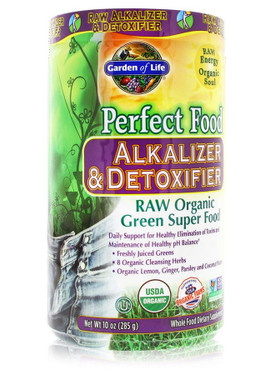 Perfect Food Raw Alkalizer Detoxifier 10 Oz 285 G Garden Of Life