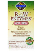 RAW Enzymes Women 90 VCaps, Garden of Life